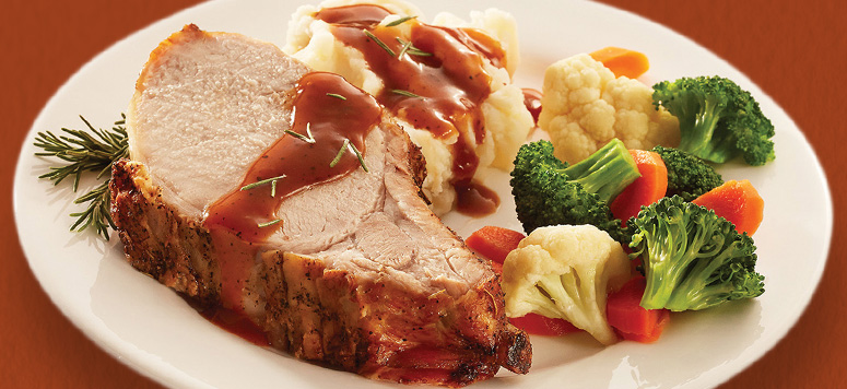 Flavorful & Tender Pork Prime Rib