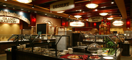 Hinkley casino buffet