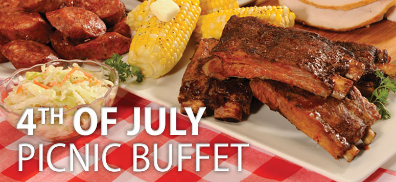 Enjoy your favorite summer picnic treats at the Buffet