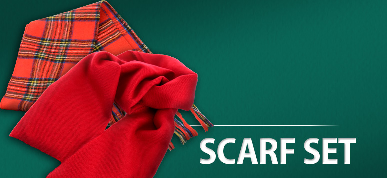 Earn 40 points and you'll be warm and stylish with ths cozy scarf set.