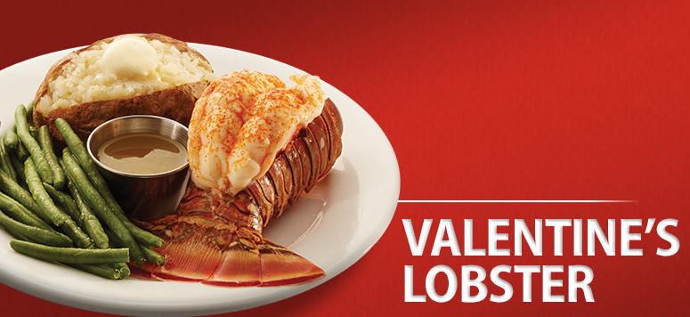 Treat your valentine to a special lobster dinner.