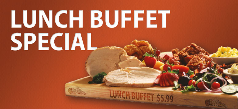 There's something for everyone at our Lunch Buffet