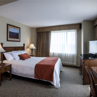 Enjoy an overnight stay at the Grand Casino Hinckley Hotel!