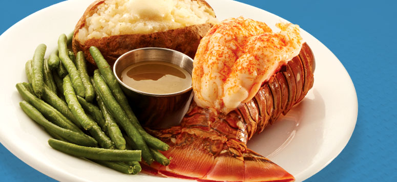 February Lobster Tail Dinner Grill Special