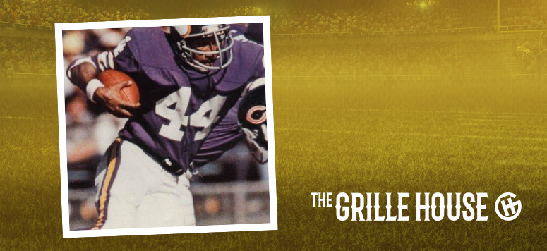 Watch the game with former Minnesota pro football player, Chuck Foreman!