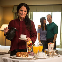 Grand Casino Mille Lacs room service