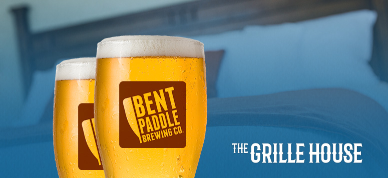 Come for the Bent Paddle Beer Dinner then play and stay at Grand Casino Hinckley!
