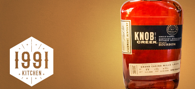 Exclusive Knob Creek Grand Casino bourbon