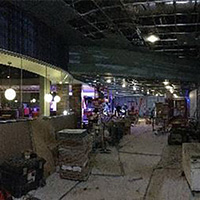 Brand Burger Bar under construction